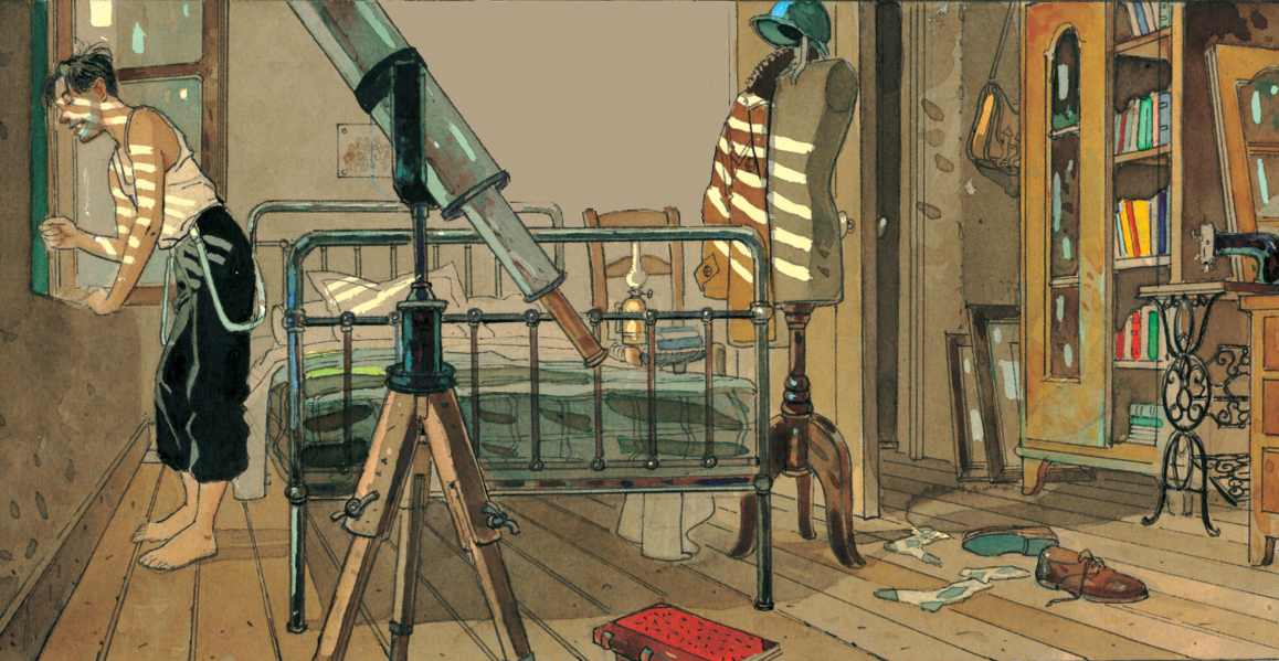 The View From His Room by Jean-Pierre Gibrat