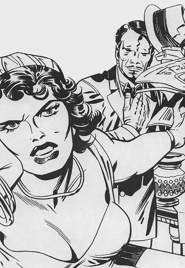 Trouble In Gangster's Paradise by Jack Kirby